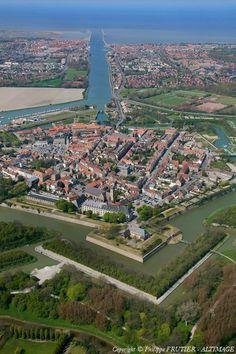 ✈️ Photo aérienne de Gravelines - Nord (59)