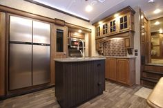 2016 Keystone Montana 3790RD View of Home Style Kitchen