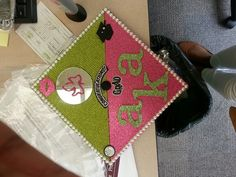 Graduation Cap for an AKA