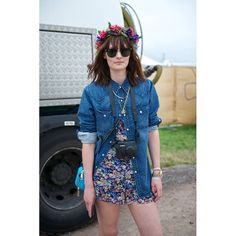 The Style Set Gets Down and Dirty at Glastonbury