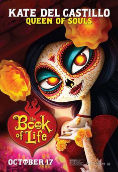 La Muerte, from The Book of life. Image used with permission from 20th Century Fox.