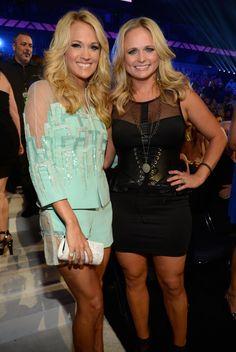 Carrie Underwood And Miranda Lambert | GRAMMY.com