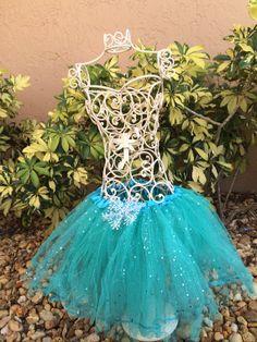 Blue Frozen Tutu, Frozen Party Favor Tutu, Blue Tutu, Elsa Tutu, Disney Frozen Party Favors, Blue Sparkle Tutu on Etsy, $13.50