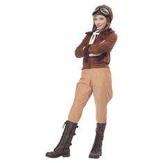 Girls Amelia Earhart Costume  Memorial Day Costumes  #memorialday #costumes…