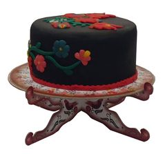 #Flowers from Kalocsa #Cake Stand  The famous flower motifs, with which this cake stand is decorated, originate from in and around the #Hunagrian town of Kalocsa. These are well-known #traditional Hungarian #patterns. - See more at: http://www.itshungarian.com/hungarian-gifts-products-store/party-decoration/flowers-kalocsa-cake-stand/#sthash.J61ArjA6.dpuf