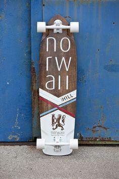 Longboard - Olav V2 Norwaii Longboards