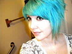blue hair #hair #bluehair