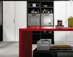 Contraste de colores en tu cocina.