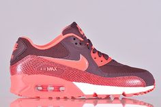 Nike WMNS Air Max 90 – Hyper Punch / Snakeskin