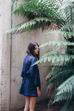 One look at Canberra-based modern women's collection, Hunter the Label and you'll be just as in love as we were. Navy Jumpsuit, Slow Fashion, Spring Summer Fashion, Dress To Impress, Fashion Photography, Photography Ideas, Women Wear, Fashion Looks, Style Inspiration