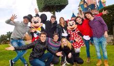 Le casting de Violetta à Disney en janvier 2014
