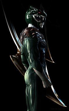 Green Ranger by CarlosDattoliArt.deviantart.com on @DeviantArt
