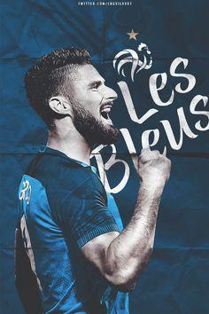 Les Bleus #OLIVIER GIROUD