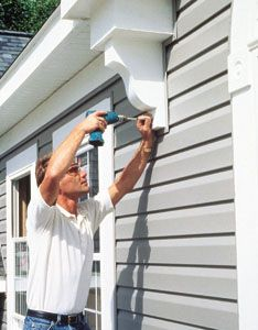 This article explains how to install vinyl siding so that it looks ...