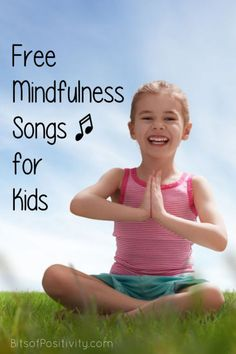 Free videos with mindfulness songs (calming songs) for kids; mindfulness resources for kids at home or in the classroom Meditation Kids, Guided Mindfulness Meditation, Teaching Mindfulness, What Is Mindfulness, Mindfulness Exercises, Mindfulness For Kids, Mindfulness Activities, Mindfulness Training, Mindfulness Techniques