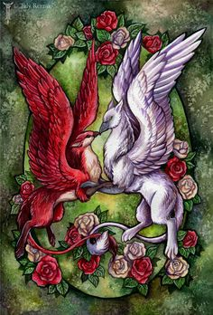 Bed Of Roses by TrollGirl.deviantart.com on @DeviantArt   Characters: Anna&Tom(Draffectionates) (C)VixenDra&TomsShape