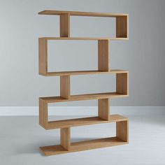 BuyContent by Terence Conran Balance Tall Shelving, Oak Online at johnlewis.com
