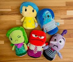 Pixar Post - For The Latest Pixar News: Quick Look: 'Inside Out' Itty Bittys From Hallmark