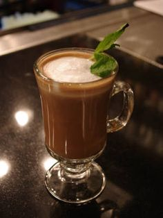 Celebrate National Coffee Day (tomorrow!) with a coffee cocktail - Hot Shot Espresso (coffee liqueur, Bailey's, & a double shot of espresso)