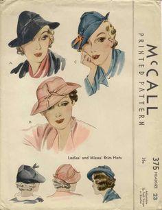 walking hat pattern