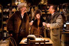 CINEMA.Os Oito Odiados, oitavo filme de Quentin Tarantino, estreia nos cinemas no dia 7 de janeiro. A produção conquistou três indicações ao Globo de Ouro. www.flashesefatos.com.br