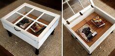 Construir una mesa con una ventana