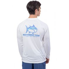 Check out T3 Contour Skipjack Long Sleeve Performance T-shirt from Southern Tide