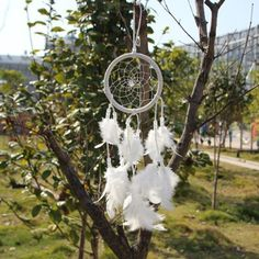 Handmade White Dream Catcher