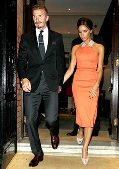 The Power Couple & Victoria in my favorite dress from her collection <3