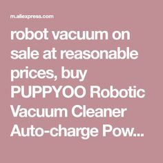 robot vacuum on sale at reasonable prices, buy PUPPYOO Robotic Vacuum Cleaner Auto-charge Powerful Bilateral Brush Home Robots Collector APP Control Machine from mobile site on Aliexpress Now! Free Facebook Likes, Dog Food Recipes, Cooking Recipes, Rabbit Eating, Dog Food Brands, Instagram Giveaway, Vacuum Cleaners, App Control, Asd