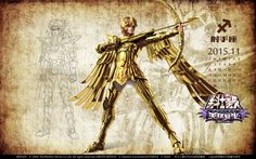 Saint Seiya - Aiolos by SONICX2011 on DeviantArt