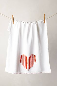 Valentine's Day gift ideas: Tea towel