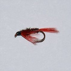 Red Diawl Bach Wet Fly Fishing Trout Flies Nymphs Wet Flies
