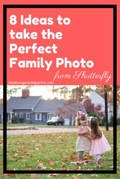 Check out these 8 tips for the perfect family photo from the professionals at Shutterfly! These ideas will revolutionize your family photo shoot!