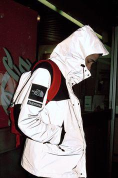 Supreme x The North Face 2013 Spring/Summer Urban Fashion, Mens Fashion, Summer Lookbook, North Face Jacket, Windbreaker Jacket, Streetwear Fashion, The North Face, Street Wear, Winter Jackets