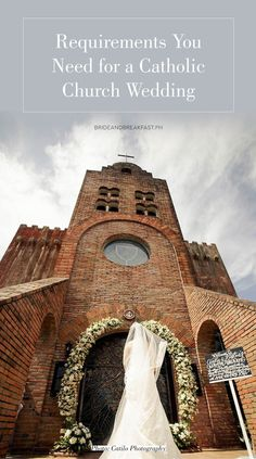 Requirements You Need for a Catholic Church Wedding Photo: Catilo Photography Wedding Planning Tips, Wedding Tips, Dream Wedding, Wedding Blog, Garden Wedding, Wedding Venues, Catholic Wedding Dresses, Church Wedding Catholic, Wedding Bible