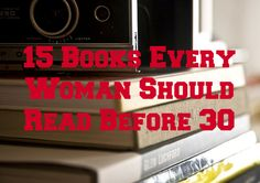 15 books that change womens' lives.