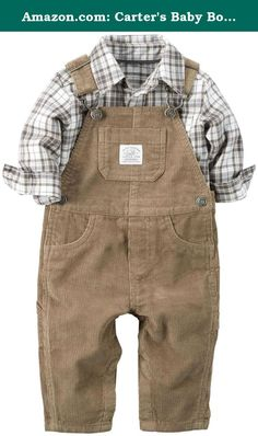 Amazon.com: Carter's Baby Boys' 2 Piece Overall Set-Khaki: Clothing. Carter's 2 Piece Overall Set (Baby) - Khaki Carter's is the leading brand of children's clothing, gifts and accessories in America, selling more than 10 products for every child born in the U.S. Their designs are based on a heritage of quality and innovation that has earned them the trust of generations of families.