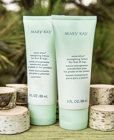 Mary Kay Private Spa Collection Mint Bliss Energizing Lotion for Feet & Legs https://www.marykay.com/LaShon