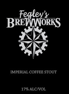 Coming June 17th, 5pm at the Allentown Brew Works. Makes a perfect #FathersDayGiftIdea  Aged for more than a year and brewed with more than 500 pounds of organic coffee beans, molasses and vanilla this imperial coffee stout has a sweet finish, rich in body with essence of raisin, chocolate and fig.  The high octane 17% ABV was derived from 400 pounds of brown sugar and an intense amount of chocolate, roasted barley, oats and caramel malts.