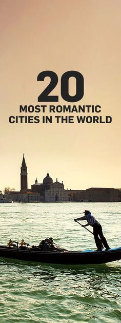 Want to conjure a little romance on your next holiday? Consider taking a trip to one of the most romantic cities in the world.