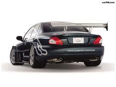 Jaguar X-Type Racing Concept - Rear View Jaguar Xj, Jaguar Cars, Jaguar Daimler, Car Tuning, Modified Cars, Performance Parts, Alloy Wheel, Car Accessories, Concept Cars
