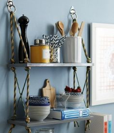 DIY On A Budget: 5 Simple + Stylish Shelves | Apartment Therapy