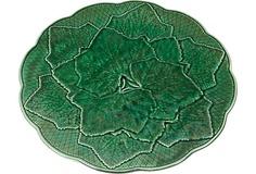 Majolica Green Leaf Plate, S/4 on OneKingsLane.com
