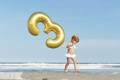 feather + light photography | stone harbor, nj | child photographer | 3rd birthday | beach birthday | white + gold beach birthday