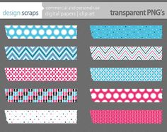 washi tape digital clip art washi tape digital by designscraps, $3.50