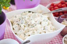 Salaattipöytä juhlahetkeen – Hellapoliisi Croissants, Feta, Potato Salad, Easy Meals, Yummy Food, Cheese, Baking, Ethnic Recipes, Sweet