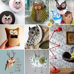 Owls. DIY Owls, Cupcake Owls, Owl Wallpaper, Owl Print, Owl Printables - All The Owls! // thedizaincollective.com