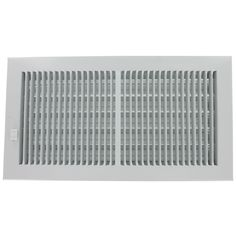 "American Products 356W12X4 12"" X 4"" Steel Wall Diffusers 1/3"" Grille Bar"