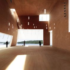 kennedy center expansion by steven holl architects set to break ground - designboom | architecture